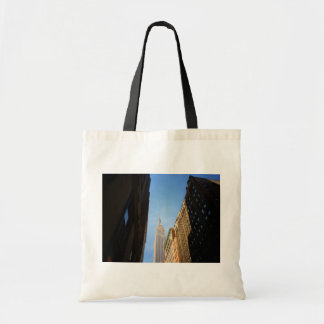 Empire State Building And Shadows, New York City Bags