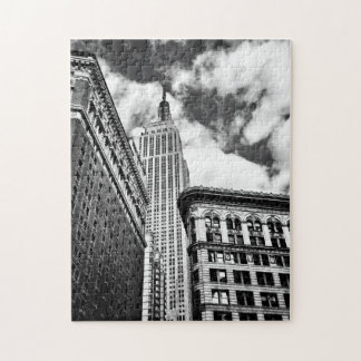 Empire State Building and Skyscrapers Jigsaw Puzzle