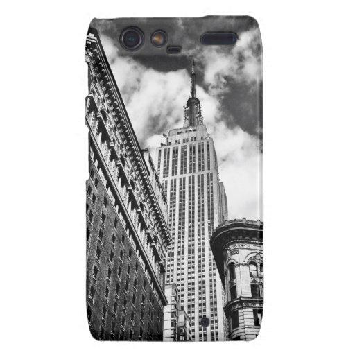 Empire State Building and Skyscrapers Motorola Droid RAZR Cases