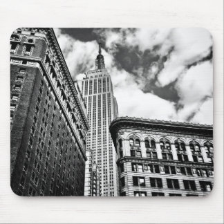 Empire State Building and Skyscrapers Mouse Pad