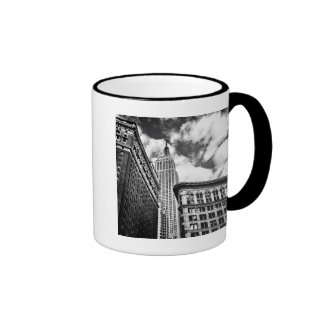Empire State Building and Skyscrapers Coffee Mugs