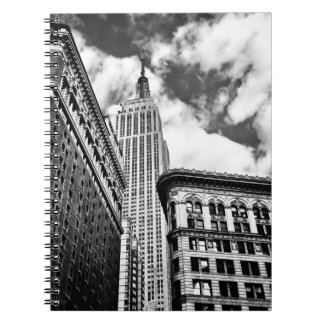 Empire State Building and Skyscrapers Notebook