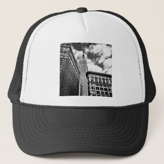 Empire State Building and Skyscrapers Trucker Hat