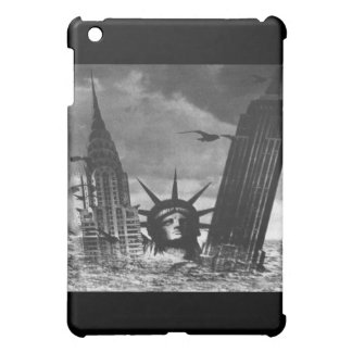 Empire State Building and Statue of Liberty iPad S Case For The iPad Mini