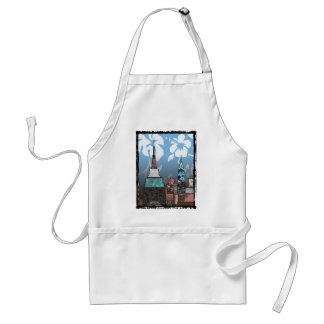 Empire State Building Adult Apron