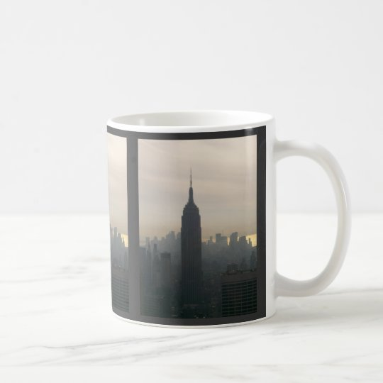 Empire State Building at dusk Coffee Mug
