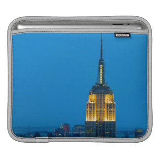 Empire State Building at Sunset iPad Sleeves