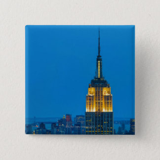 Empire State Building at Sunset Pinback Button