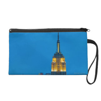 Empire State Building at Sunset Wristlet Purse