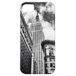 Empire State Building Black and White iPhone SE/5/5s Case