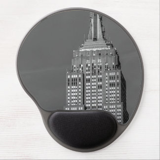 Empire State Building Black and White Photo Gel Mouse Mats