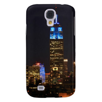 Empire State Building Blue for Autism 2012 Samsung S4 Case