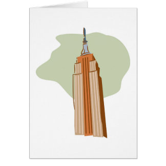 Empire State Building Card