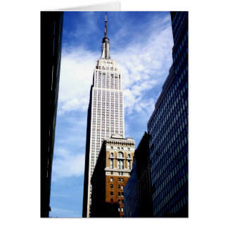 Empire State Building Note Card