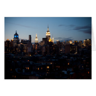 Empire State Building Cityscape Greeting Card