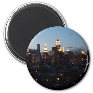 Empire State Building Cityscape Magnets