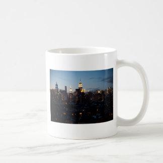 Empire State Building Cityscape Mugs