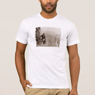Empire State Building Construction - Vintage Photo T-Shirt