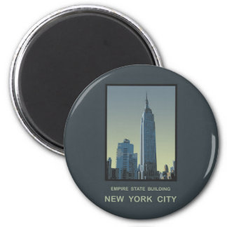 Empire State Building de New York City Imán De Frigorífico