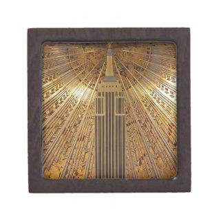 Empire State Building del art déco Cajas De Regalo De Calidad
