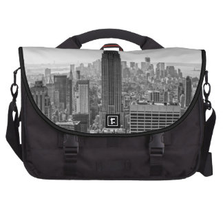 Empire State Building del horizonte de la ciudad d Bolsas De Portátil