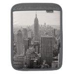 Empire State Building del horizonte de la ciudad d Fundas Para iPads