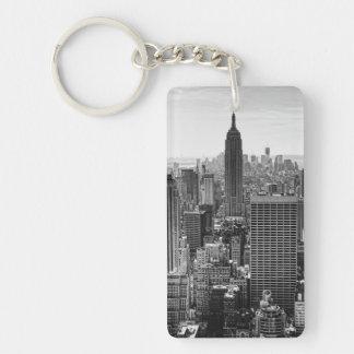 Empire State Building del horizonte de la ciudad d Llavero