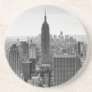 Empire State Building del horizonte de la ciudad d Posavasos Diseño