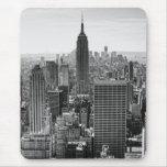 Empire State Building del horizonte de la ciudad Mousepad