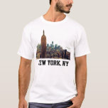 Empire State Building del horizonte de la ciudad Playera