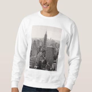 Empire State Building del horizonte de la ciudad Sudaderas Encapuchadas