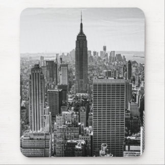 Empire State Building del horizonte de la ciudad Alfombrilla De Ratón