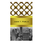 Empire State Building del horizonte de la ciudad Tarjeta Personal