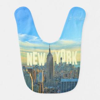 Empire State Building del horizonte de NYC, Baberos