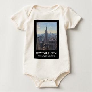 Empire State Building del horizonte de NYC, Body De Bebé
