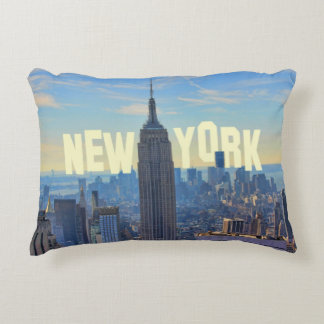 Empire State Building del horizonte de NYC, Cojín