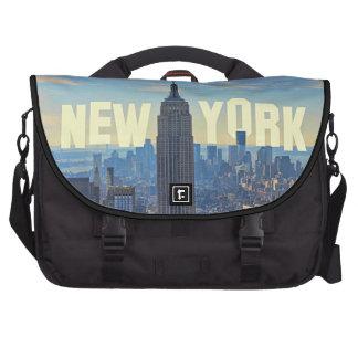 Empire State Building del horizonte de NYC, comerc Bolsas De Portatil