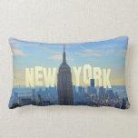 Empire State Building del horizonte de NYC, comerc Almohadas