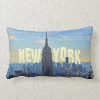 Empire State Building del horizonte de NYC comerc Almohadas