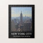 Empire State Building del horizonte de NYC, comerc Puzzles