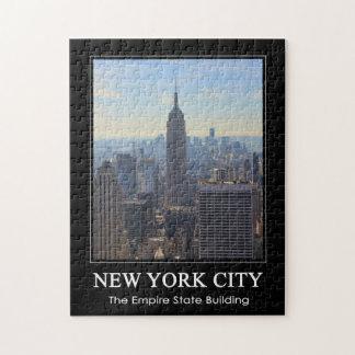 Empire State Building del horizonte de NYC comerc Puzzles