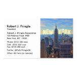 Empire State Building del horizonte de NYC, comerc Tarjeta De Visita