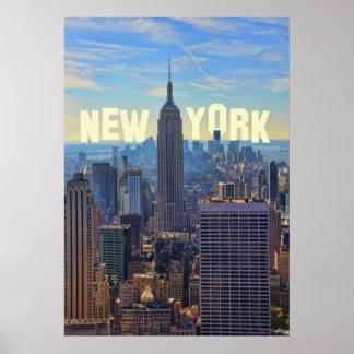 Empire State Building del horizonte de NYC, Impresiones