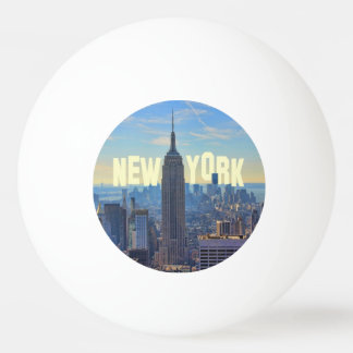 Empire State Building del horizonte de NYC, Pelota De Tenis De Mesa