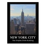 Empire State Building del horizonte de NYC, Postal