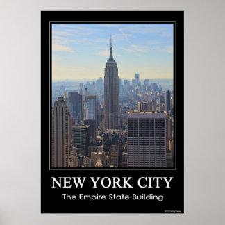 Empire State Building del horizonte de NYC, Póster