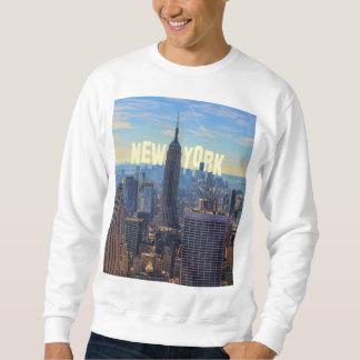 Empire State Building del horizonte de NYC, Suéter