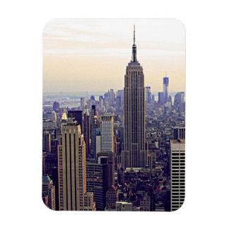 Empire State Building del horizonte de NYC, WTC 4 Imán