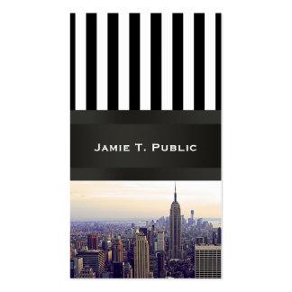 Empire State Building del horizonte de NYC, WTC 4 Plantillas De Tarjetas De Visita