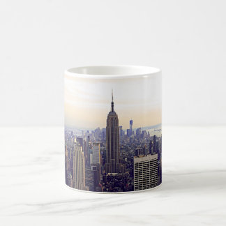 Empire State Building del horizonte de NYC, WTC 4 Tazas